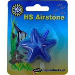 HS AQUA LUCHTSTEEN STER BLAUW 50 MM/BLISTER AF-50
