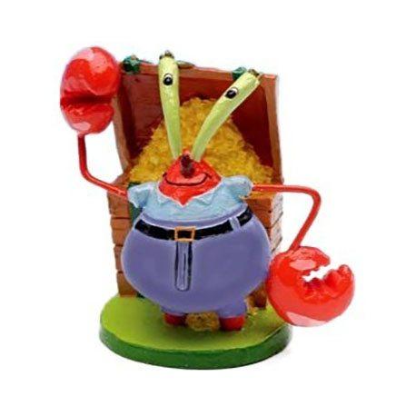 penn-plax-mini-mr-krabs-resin-ornament-sbr2