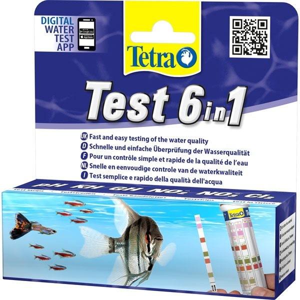 tetra-test-stroken-6-in-1
