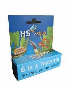 Test strips stroken hs aqua
