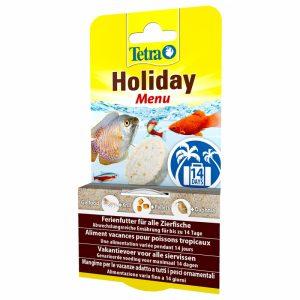 Tetra holiday menu 2 weken vakantie voer