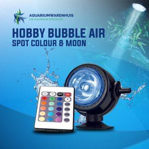HOBBY BUBBLE AIR SPOT COLOUR & MOON AQUARIUM