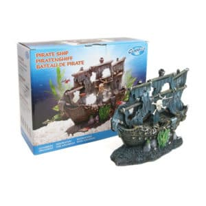 ARCADIA AQUA BRITE ORNAMENT PIRATE SHIP