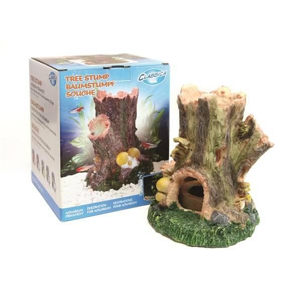 ARCADIA AQUA BRITE ORNAMENT TREE STUMP 145X130X130 MM