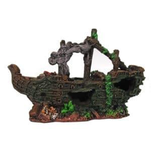 POLYRESINE SHIPWRECK 2 21x7x14 CM