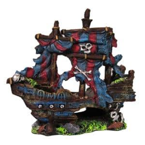 POLYRESINE SHIPWRECK 3 23x10x23 CM