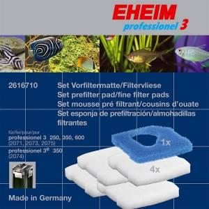 EHEIM SET FILTERMAT FILTERVLIES 4 VOOR PROF. 3 2071737475