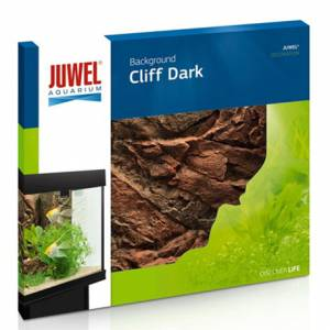 JUWEL ACHTERWAND MOTIV CLIFF DARK