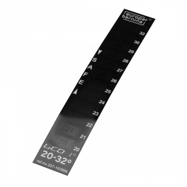 LCD thermometer 20-32ºC