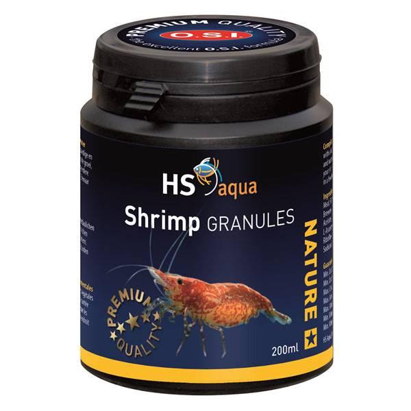 HS AQUA SHRIMP FOOD GRANULES 200 ML