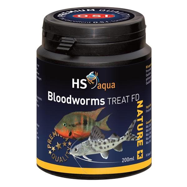 HS AQUA NATURE TREAT BLOOD WORMS 200 ML